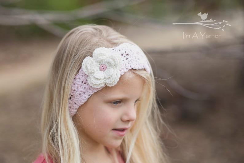 Pink Baby Headband Little Girl Headbands Head Bands For Etsy