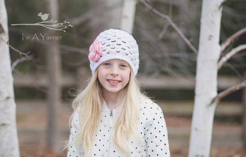 3b5b0b90111 Crochet Hat for Kids Toddler Winter Beanie Knitted Hat with