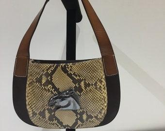 Small Vintage Snake  Kieselstien-Cord Purse