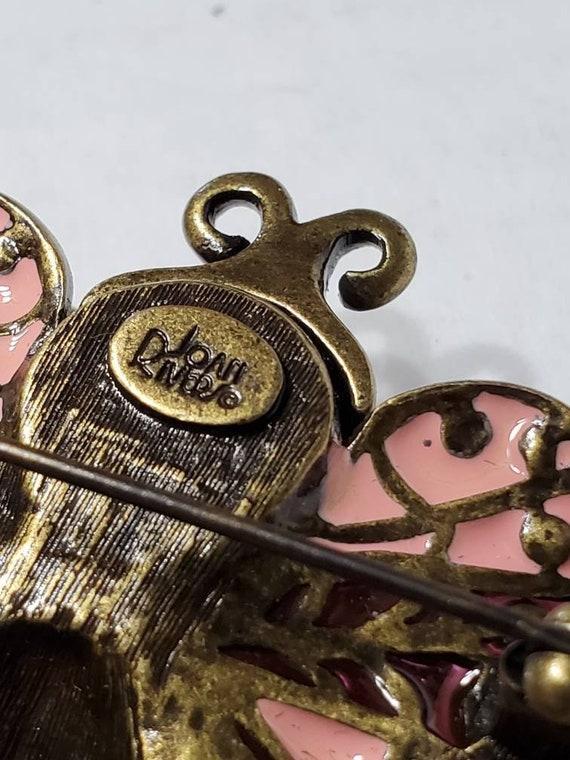 Joan Rivers Earrings and Brooch - Vintage Clip Ons - image 5