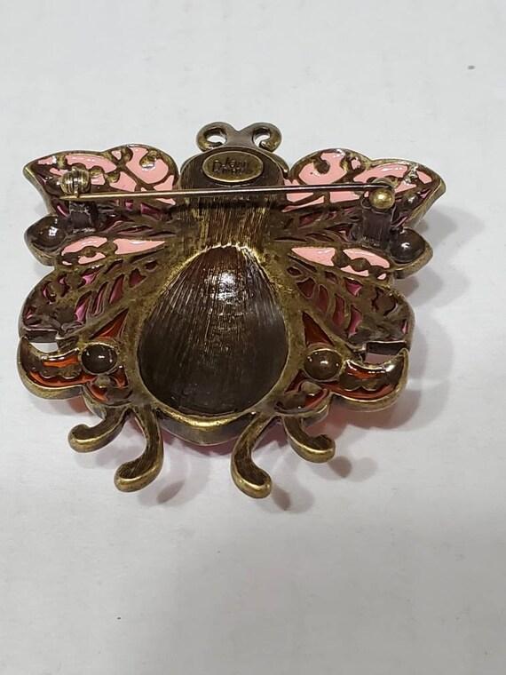Joan Rivers Earrings and Brooch - Vintage Clip Ons - image 6