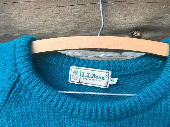 Vintage Wool LL Bean Sweater - image 4