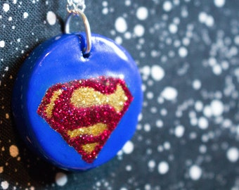 Superman - House of EL in Glitter