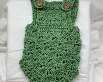 e28fd7e3659b Crochet baby romper