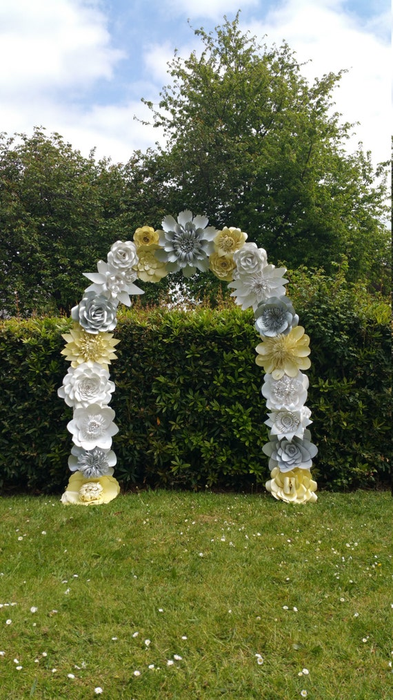 flowers for wedding arch paper flower arch wedding arch flower arch wedding 4269
