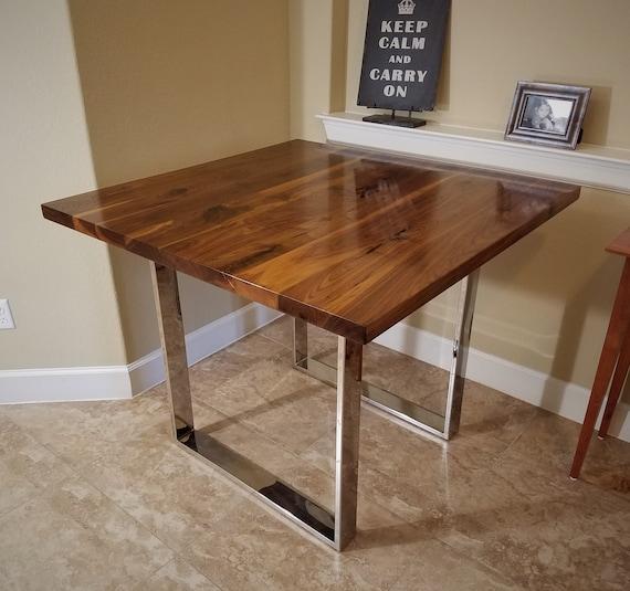 Square Walnut Table Top 24 30 FREE SHIP   Etsy