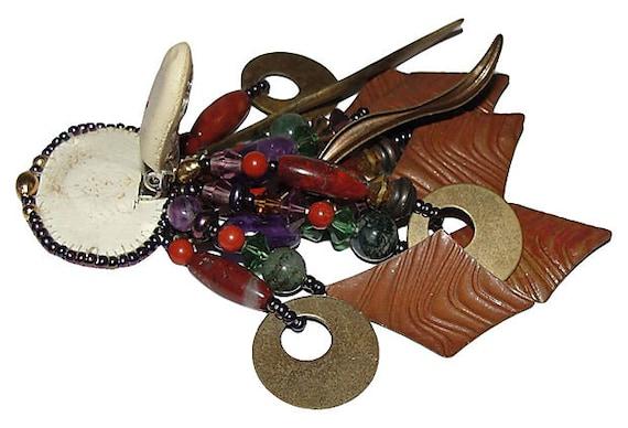 Gemstone Chandelier Earrings - image 4