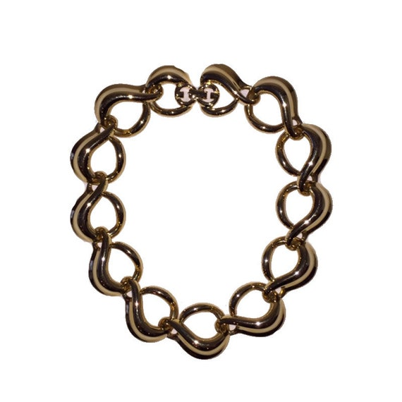 Givenchy Abstract Link Chain Necklace