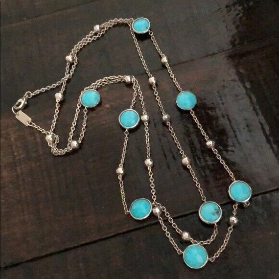IPPOLITA Sterling Turquoise Rock Candy Faceted Pin
