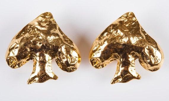 Edouard Rambaud Spade Earrings