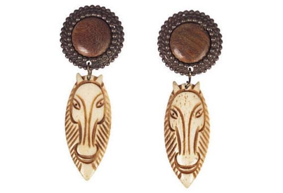 Edouard Rambaud Safari Drop Earrings