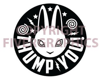 Thump You! Rabbit Decal