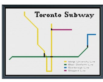 Subway map pdf toronto