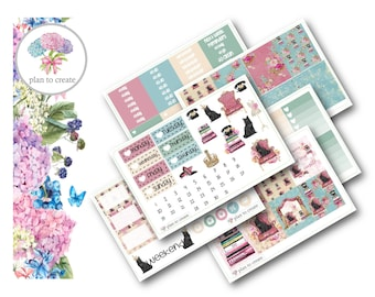 Queen Kitty Weekly Planner Kit