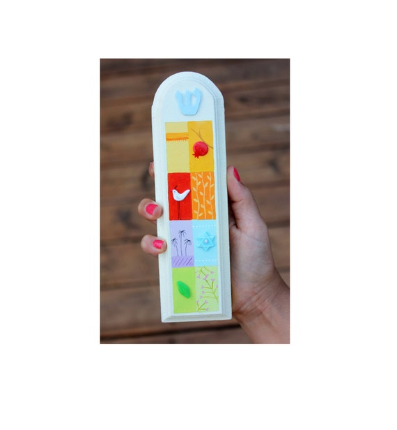 Customized Front Door Mezuzah Case Hand Made Mezuzah Case Etsy