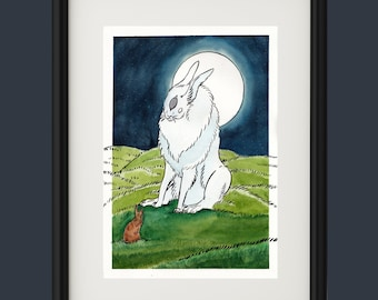ORIGINAL : The rabbit and the beast