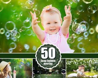 50 Bubbles Photoshop Overlays: Realistic Soap air bubbles Photo effect, Outdoor photo Sessions, Photoshop Overlay, Photo Overlays, png