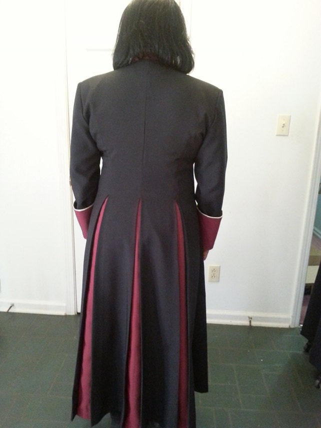 Pulpit Robes-Phoebe tailored Cassock Robe for Female | Etsy