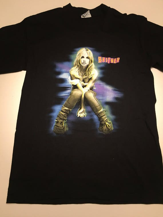 Vintage Britney Spears The Britney Tour T Shirt