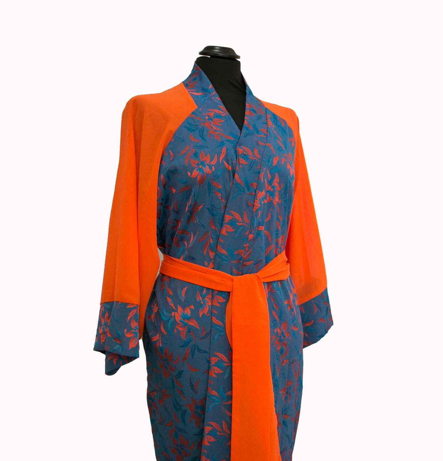 Night Dress in Silk Soft Dressing Gown, Pajamas & Robe for Women ...