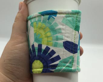 Coffee Cup Cozy, Coffee Cup Sleeve, Cup Cozy, Cup Sleeve, Reusable Coffee Sleeve, Zero Waste