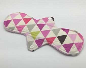 """Arrows 10"""" Heavy Absorbency Cloth Pad, Reusable Cloth Pad, Cloth Menstrual Pad, Cloth Pantyliner,  Ecofriendly, Zerowaste"""