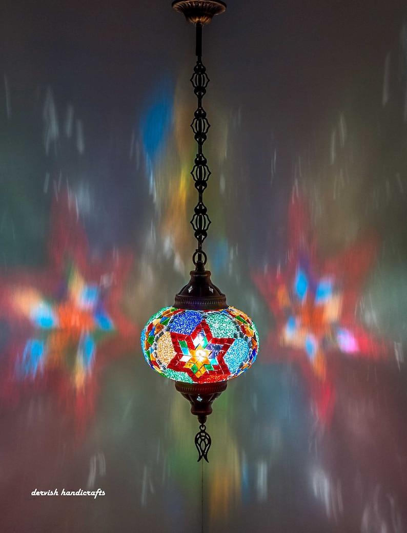 1fa568f5ec6f8 Free Ship Turkish Lamp PENDANT LAMP Hanging Lamp Ceiling Lamp Pendant Lamp  Swag Plug Lamp 7