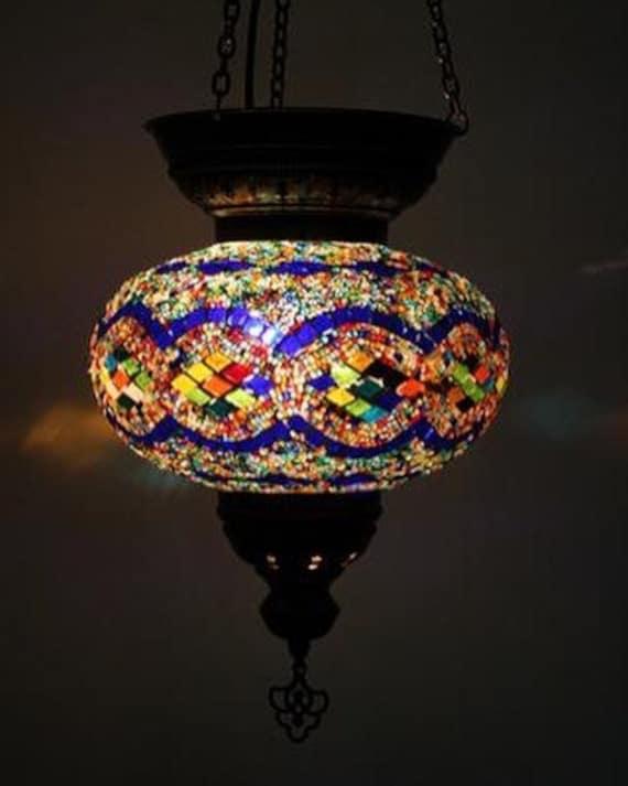 brand new 9df37 9f3c7 Free Shipping Turkish Pendant Lamp Hanging Lamp Chandelier Lighting Ceiling  Light Lampshade Moroccan Decor Wall Lighting Moon Lamp