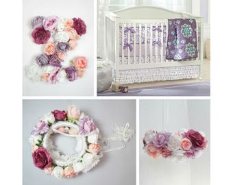 Floral Letters Z/ flower letter boho/ wall letter Floral / Flower letter girl/ Baby shower flower / wall flower hanging/ wall flower letter
