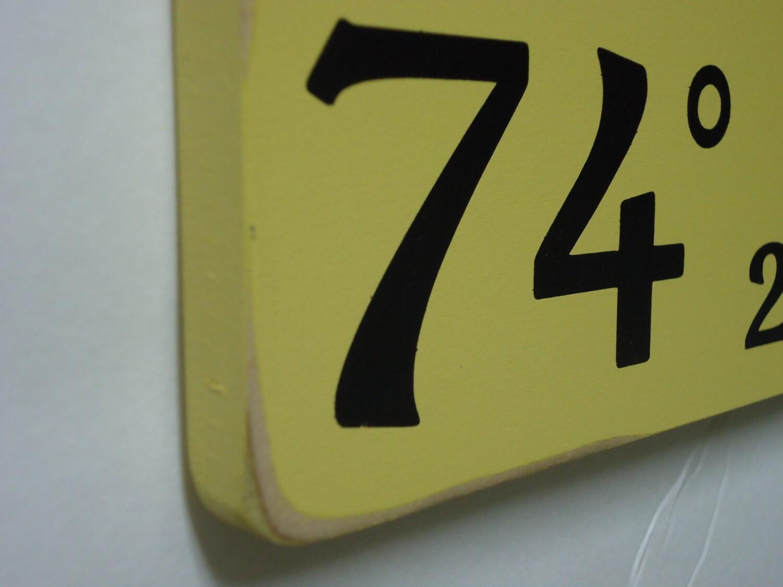 98ee06cebc Personalized latitude longitude sign/custom family latitude longitude/family  GPS coordinates sign/family gift/yellow coordinates sign