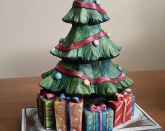 Holiday Christmas Tree Stocking Hanger