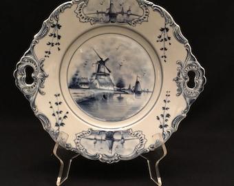 Delpht Handled Platter