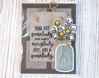 You Are Somebody Special Handmade Card