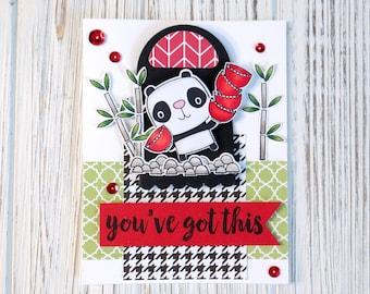 You've Got This Handmade Card