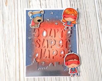 Super Duper Kids Handmade Card