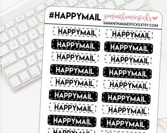 Happy Mail for use with Erin Condren Lifeplanner™ Happy Planner Stickers