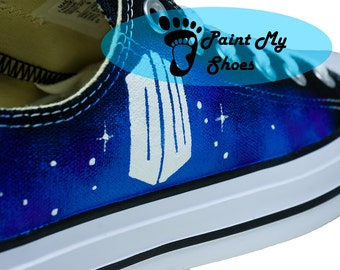 Custom shoes, Galaxy, converse, tv shoes, free shipping in the US, V2