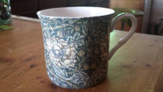 William Morris Design Coffee Mug Vintage Heritage Stoke On Etsy