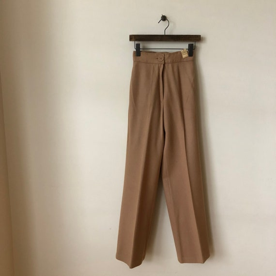 1970s Bobbie Brooks high waisted, flat front, came