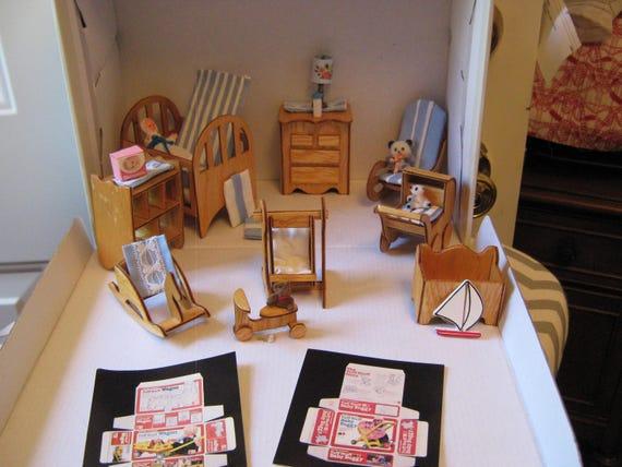 Nursery Miniature Dollhouse
