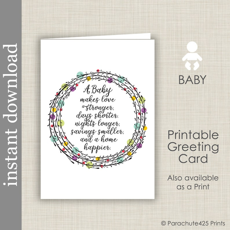 image relating to Printable Baby Cards called Youngster Card Printable, little one shower card, little one congratulation, anticipating little one card, kid estimate card, boy or girl shower, little one woman card, boy or girl boy card