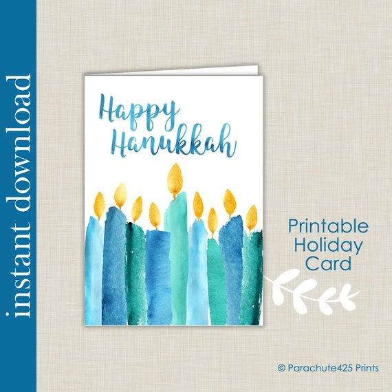 photo regarding Printable Hanukkah Card known as Hanukkah Printable, Hanukkah Card, Joyful Hanukkah, printable card, Hanukkah down load, Hanukkah candles, competition of lighting, prompt Hanukkah