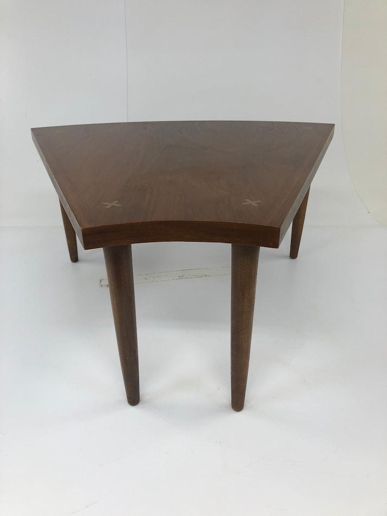 35415465d6aa Mid Century Modern WEDGE TABLE Merton Gershun side end