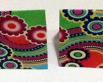 9 Retro Mini Note cards