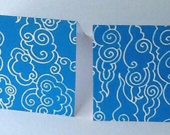 9 Clouds Mini Note Cards