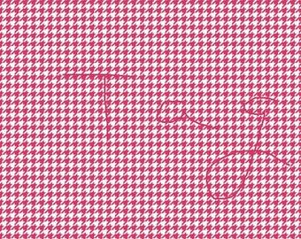 Cherry Wine Houndstooth Cardstock Paper