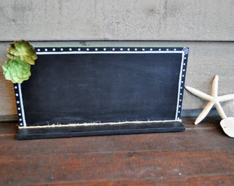 Succulent inspired chalk board