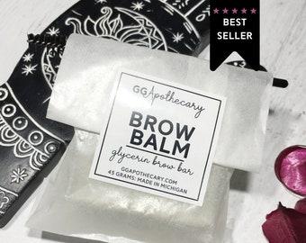 BROW BALM • eyebrow pomade, wax • glycerin brow balm with bamboo to tame and treat