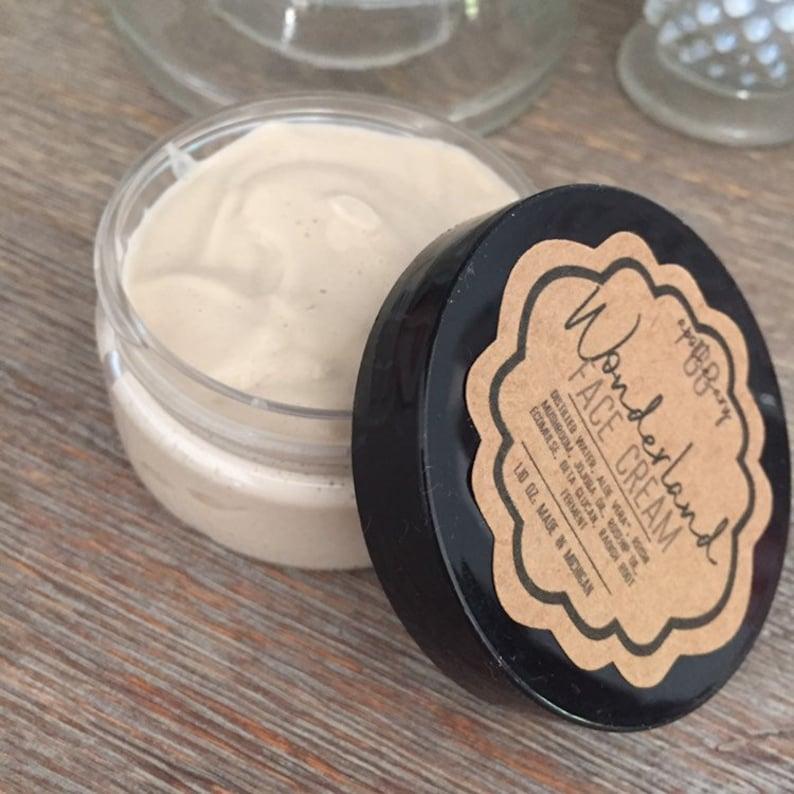 WONDERLAND  adaptogen face cream with rosehip seed oil image 0