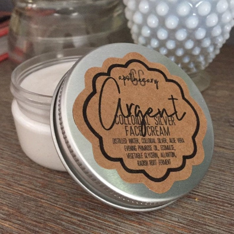 ARGENT  colloidal silver face cream with evening primrose oil image 0